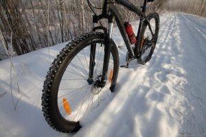 Выбор зимней резины для велосипеда