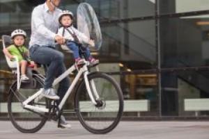 Детское велокресло и способы его крепления к велосипеду