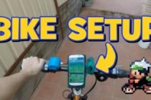 Pokemon go лучший помощник – велосипед