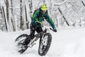 Стоит ли кататься зимой на велосипеде