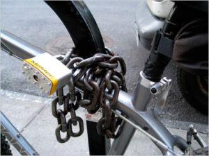 Видимая защита велосипеда