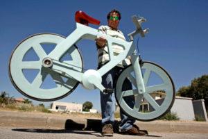 Самый дешевый и самый легкий велосипед