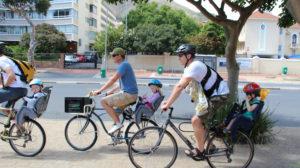 Велопрогулки с малышом