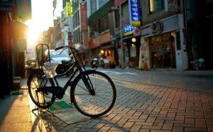 Городской велотранспорт