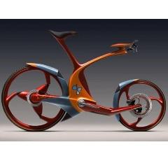велосипед будущего с дополнительной амортизацией