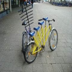 велосипед для большой семьи