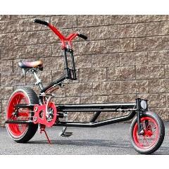 велосипед с выносным управляющим колесом