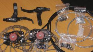 Порядок установки механических дисковых тормозов