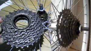 Варианты велосипедных звездочек