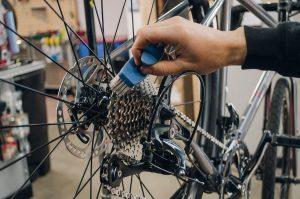очистка велосипеда