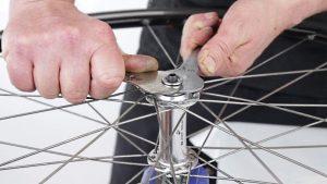 устранение люфта переднего колеса