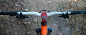 Велосипедный руль с выносом