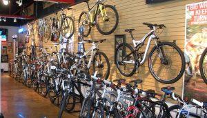 Новый велосипед с магазина