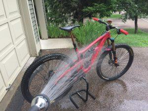 Мытье велосипеда