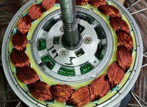 Мотор-колесо изнутри