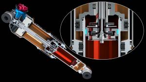 Как работает FВоздушно-масляный амортизатор