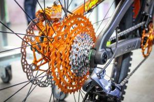 Задние звезды велосипеда