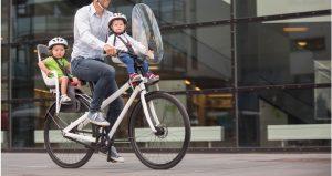 Детское велокресло на раму велосипеда
