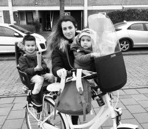 Детское велокресло с универсальным креплением