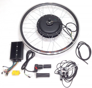 Установка мотор-колеса