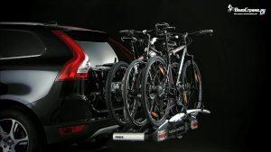 Фаркопный велобагажник