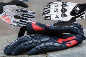 Усиленные вставки в велоперчатках