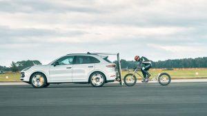 В погоне за рекордами на велотехнике