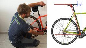 Смещение велоседла