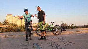 Тренировка wheelie