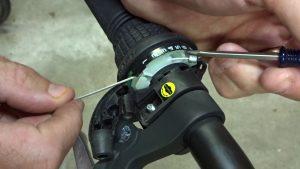 Замена велотросов