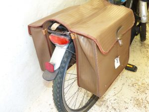 """Сумка-штаны"" на велобагажник"