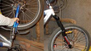 Снятие веловилки