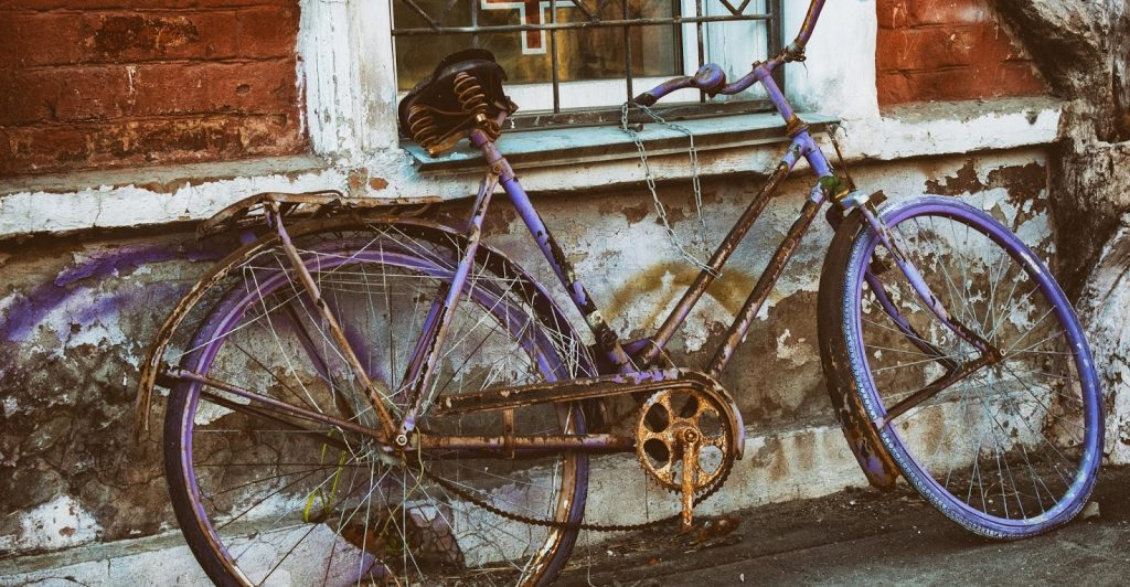 Ржавая велотехника