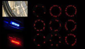 Колпачки со светодиодами