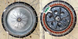 Мотор-колесо с прямым приводом
