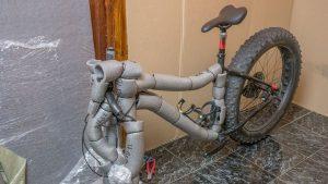 Сборка велотранспорта для перевозки