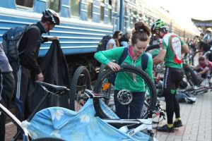 Упаковка велобайка перед выездом